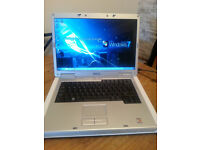 Dell Inspiron 1501, windows 7 laptop