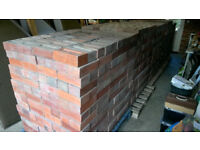 2450 reclaimed imperial red bricks