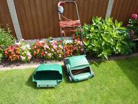Qualcast Concorde 32 Electric Garden Lawn Mower In Good Condition.
