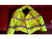 Brand new hi vis jacket