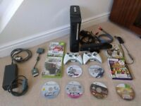 Xbox 360 120Gb + Kinect + 2 Controllers + Games
