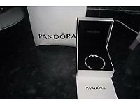 New with box and bag unwanted gift pandora braclet