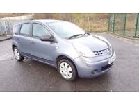 2007 Nissan Note Visia MPV 1.4 Petrol 5 Door 71000 Miles Only Full Service History...