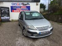 03 CITROEN C3 1.4 PETROL IN SILVER *PX WELCOME* MOT TILL NOVEMBER 2017