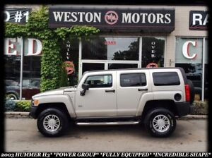2007 Hummer H3 *RARE *4X4 *POWER GROUP *ACCIDENT FREE!!!
