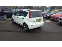 Nissan Note 1.5 DCI 90 N-TEC (white) 2011