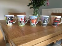 Alex Clark bone China mugs