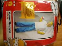 Homer Simpson costume Brand New