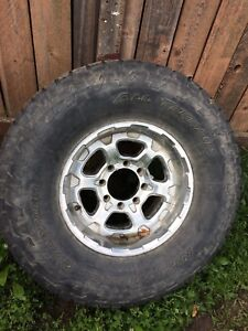 """37"""" tire on ford wheel"""