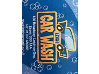 Car Wash Valeters wanted