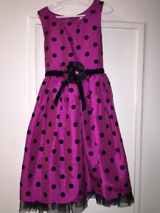 Girls party dress size 8