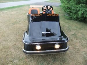 1974 REAL Harley Davidson custom 4 wheel Golf cart