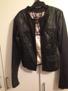 Danier Leather Women's Black Leather Jacket