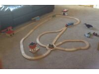 Thomas Tank track and trains