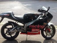 Aprilla rs racing 125 was a trackday bike since been converted back to original
