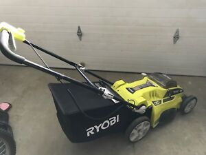 Electric Lawnmower & Trimmer