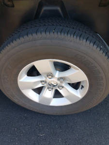 2014 dodge ram 17 inch tires and wheels with sensors
