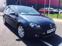 VW GOLF PLUS TDI PD 105 SE DIESEL MANUAL 2007 SATNAV