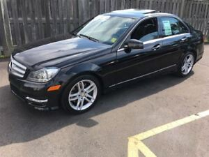 2013 Mercedes-Benz C-Class 300, Automatic, Navigation, AWD, Only
