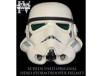 Brand new EFX Stormtrooper replica helmet - Star Wars Episode IV