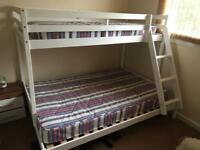 Bunk bed & mattresses