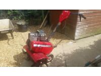 Rotovator with briggs and stratton 5hp engine