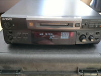Mini Disc Deck Player Recorder Sony MDS-S38