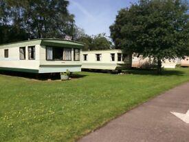 Perment caravans on quiet caravan in Brodie