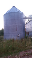 Grain Storage grain tank rental. 50ft circ 16ft high