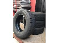 195/70r15. Tyres Set of 4