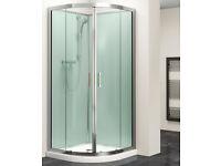 Shower cubicle enclosure 900mm quadrant