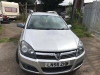 VAUXHAL ASTRA 1.6 SXI PETROL SILVER FOR £1395