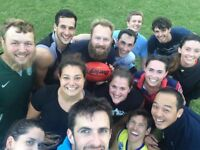 PLAYERS WANTED: AUSSIE RULES FOOTBALL!