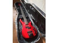 Westfield 5 string bass guitar