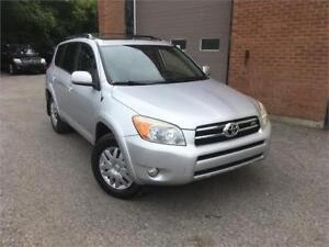 TOYOTA RAV4 V6 2006/AUTO/CUIR/TOIT OUVRANT/SIEGES CHAUFFANT/AC