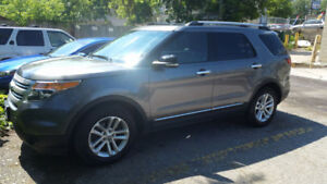 2012 Ford Explorer XLT 7 PAS, SUV, LEATHER, NAV , PAN ROOF