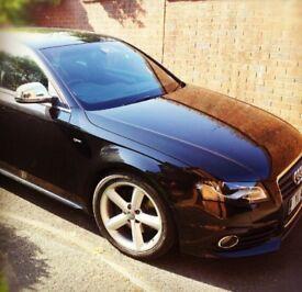 Audi A4 Sline 2008 black