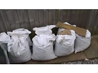 8 small bags of Bracey's sub-base