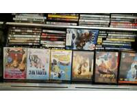100+ DVD,S a wide range for all the family