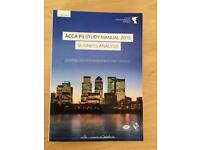 *** LONDON SCHOOL BUSINESS & FINANCE (LSBF) ACCA EXAM BOOKS (P2 + P3) , IMMACULATE CONDITION***