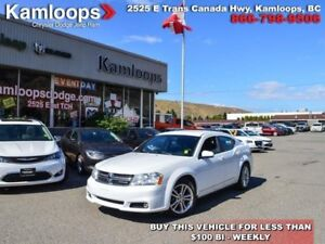 2012 Dodge Avenger SXT  - heated mirrors -  leather trim -  Siri