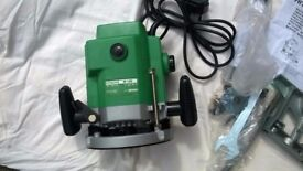 As new Hitachi 240 Volt Variable Speed Router M12V