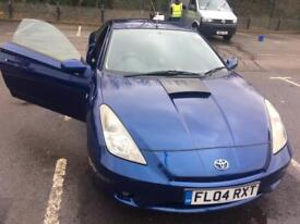 Toyota Celica, 2004 Facelift version with Parking Sensor and Camera NOT Ford/Corsa/Honda/Mazda