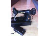Electric Singer sewing machine
