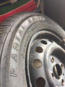 All season tires. 175/ 70R14 84T