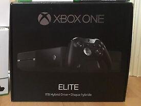 1tb Xbox One Elite w/ 21 games + accessories