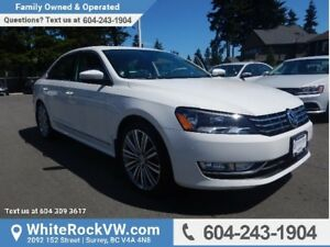 2015 Volkswagen Passat 2.0 TDI Comfortline POWER MOONROOF, A/...