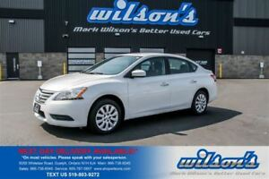 2014 Nissan Sentra S CRUISE CONTROL! BLUETOOTH!