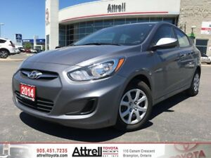2014 Hyundai Accent. Keyless Entry, Heated Seats, Bluetooth