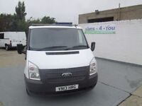 2013 ford transit short/low 100 6 speed 91500 miles £5750 0r £44.60 a week